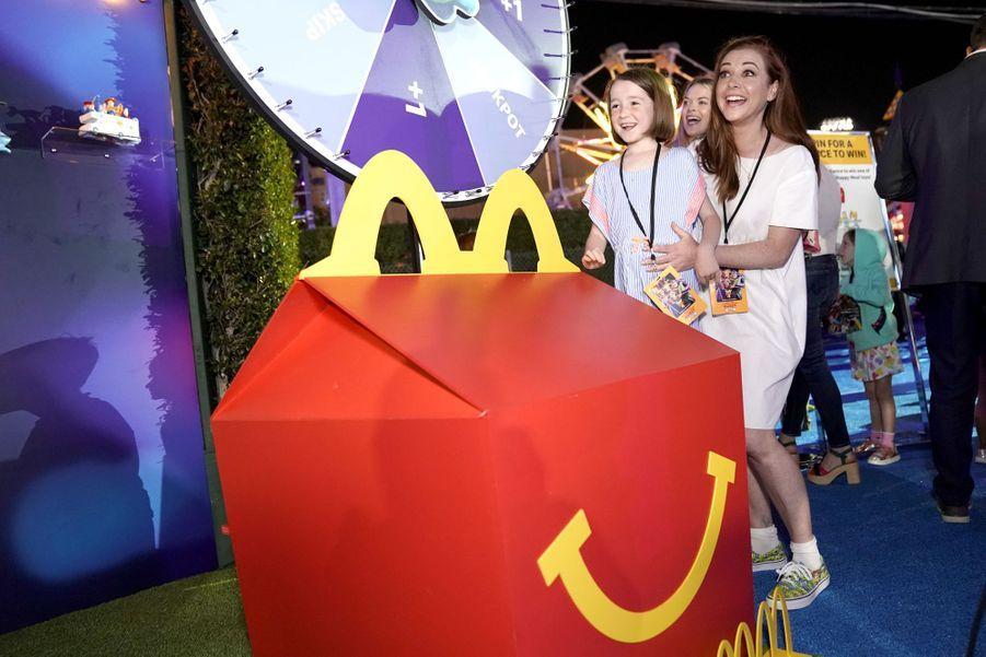 Alyson Hannigan avec sa filleKeeva lors de la première du film «Toy Story 4» à Los Angeles le 11 juin 2019