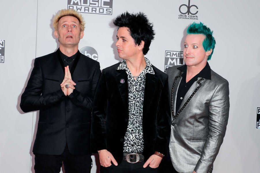 Green Dayaux American Music Awards