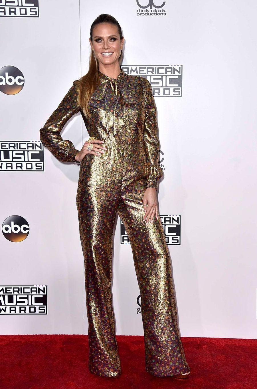 Heidi Klumaux American Music Awards