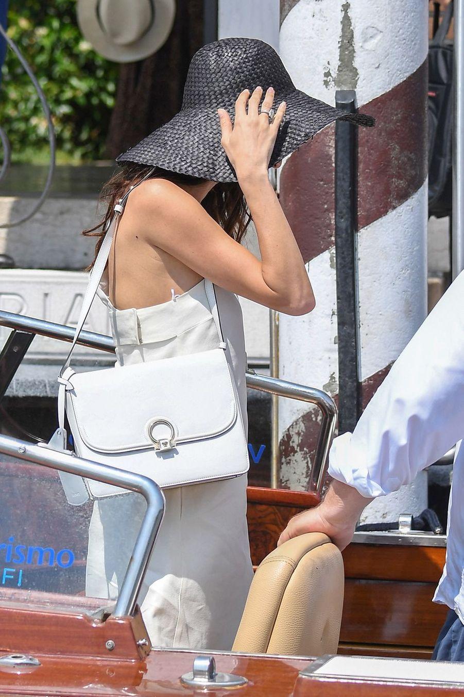 Amal Clooney à Venise le 27 juin 2019