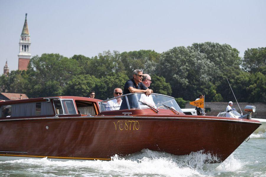 George Clooney à Venise le 27 juin 2019