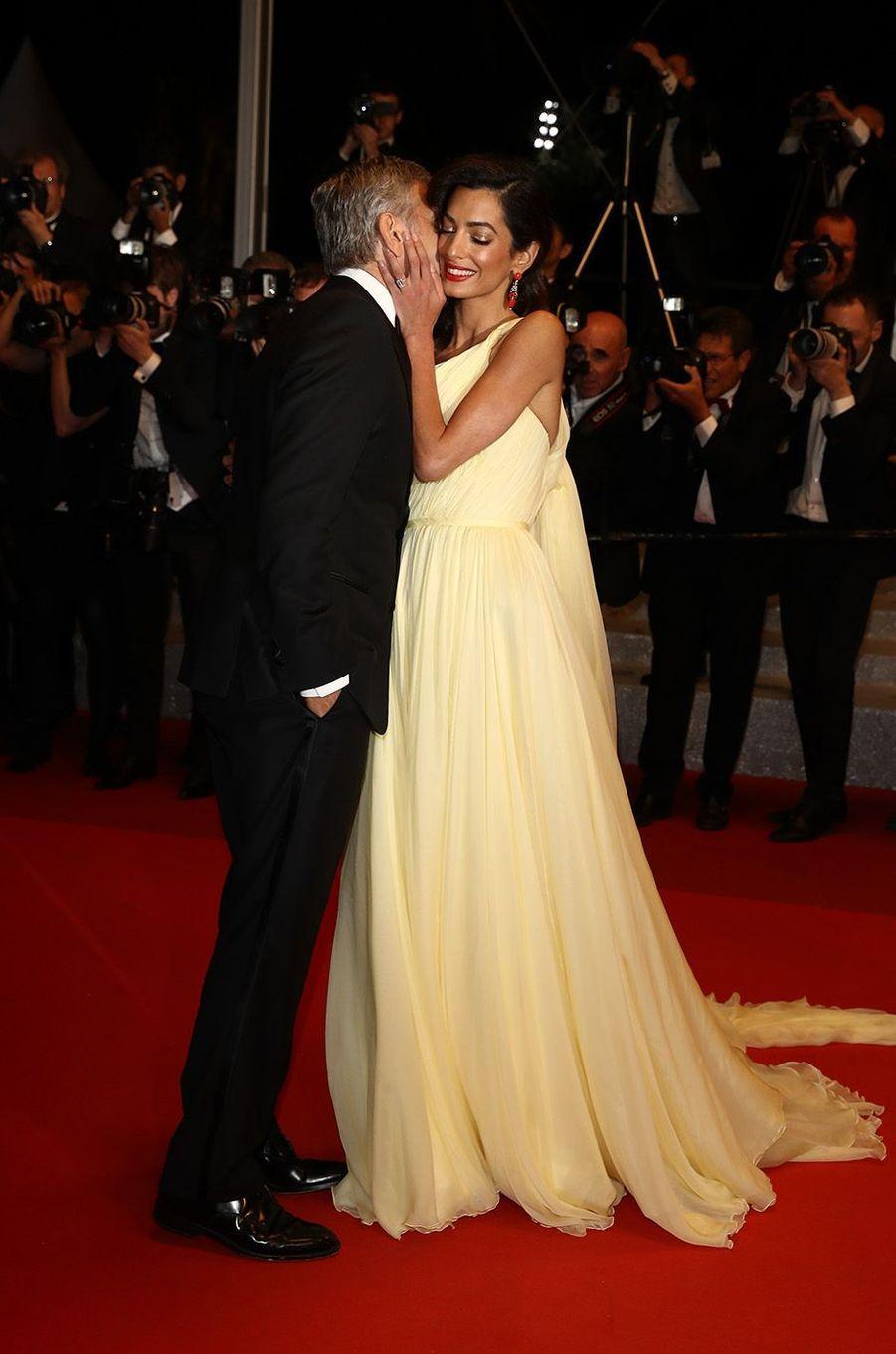 Amal Clooney au festival de Cannes, en mai 2016.