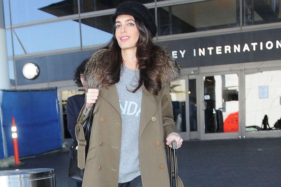 Amal Clooney en janvier 2017.