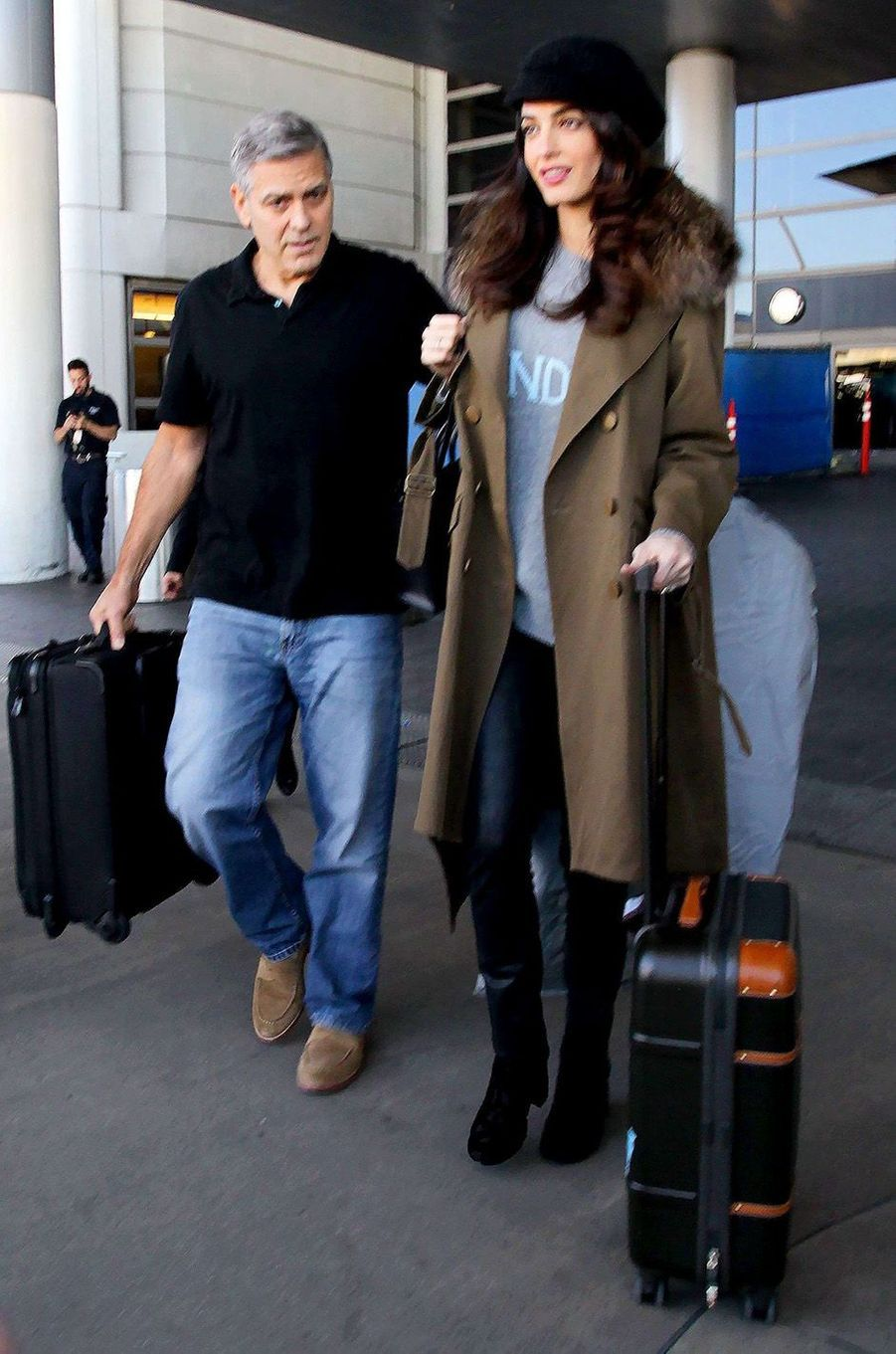 Amal Clooney attend des jumeaux !