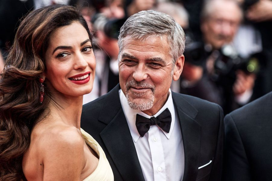 George et Amal à Cannes.