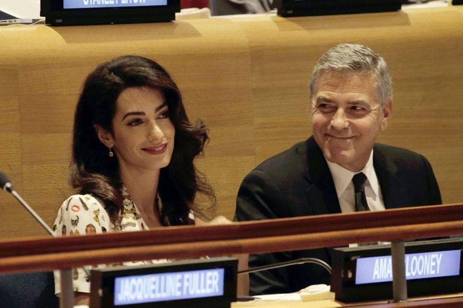 Le couple à l'ONU en septembre 2016.