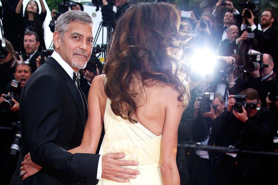 Amal et George Clooney à Cannes en mai 2016.