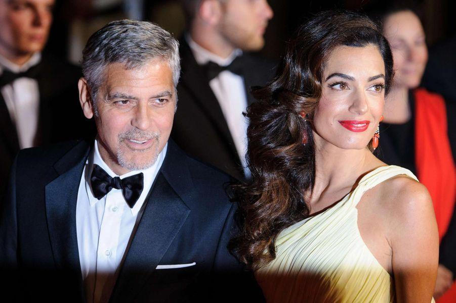 George et Amal Clooney à Cannes en mai 2016.