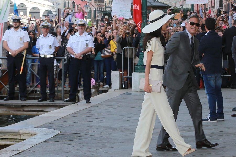 Le couple à Venise