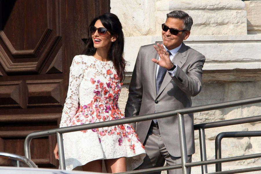 Amal et George Clooney se sont dit oui à Venise en septembre 2014.