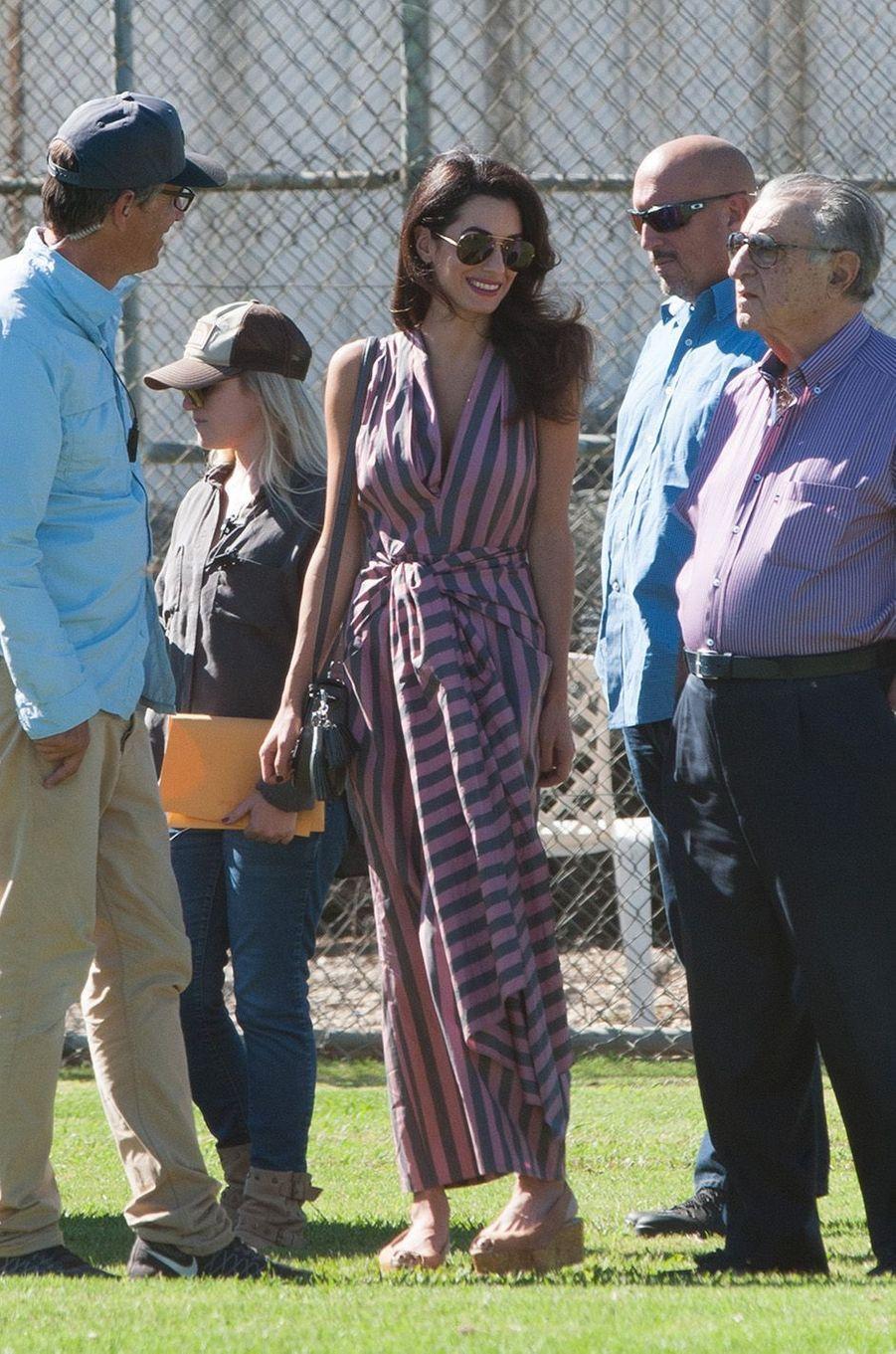 Amal Clooney, une vraie princesse.
