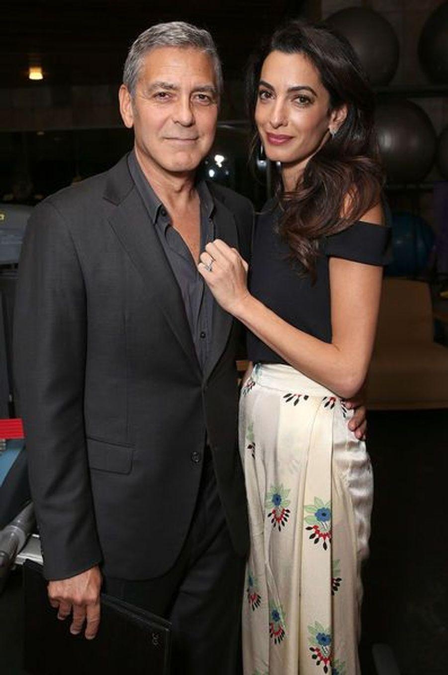 Amal Clooney, future maman et fashion queen