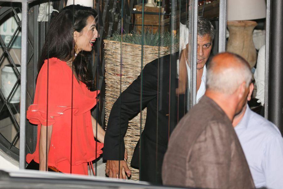 George Clooney rencontre le président