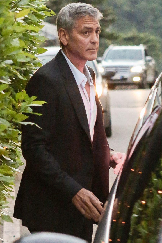 George ClooneyàCernobbio (Italie) le 20 juin 2019