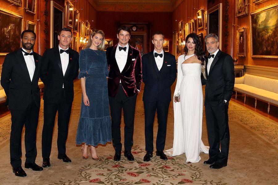 Chiwetel Ejiofor, Luke Evans, Tamsin Egerton, Josh Hartnett, Benedict Cumberbatch, Amal Clooney et George Clooney