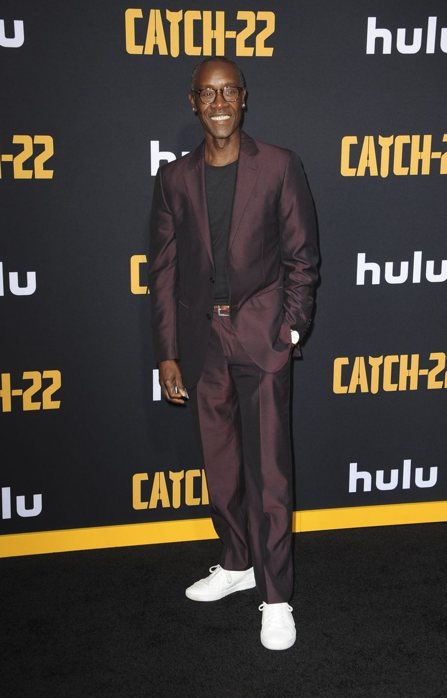Don Cheadle à la première de «Catch-22» à Los Angeles le 7 mai 2019