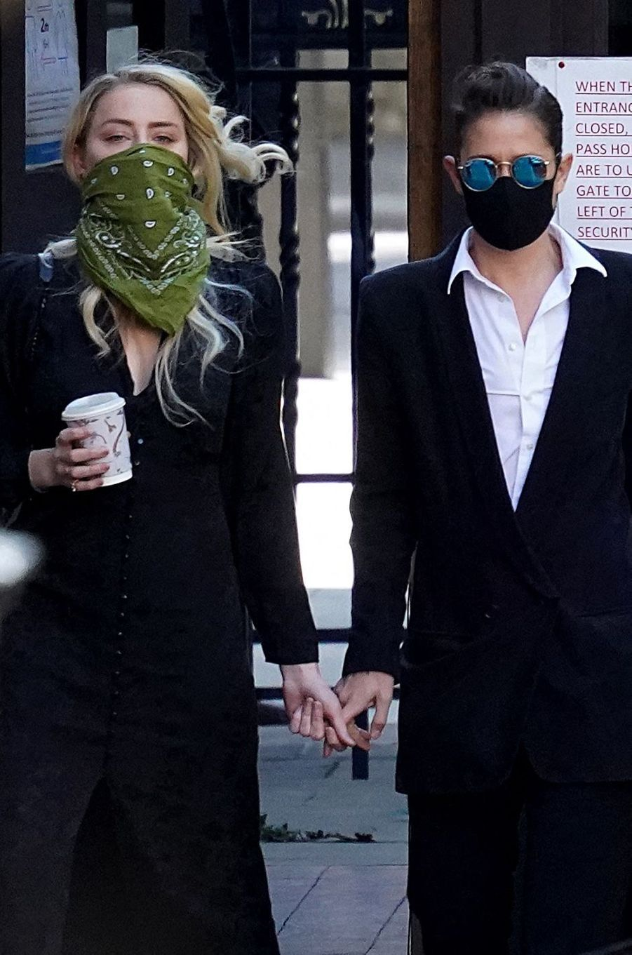 Amber Heard et Bianca Butti le 10 juillet 2020.