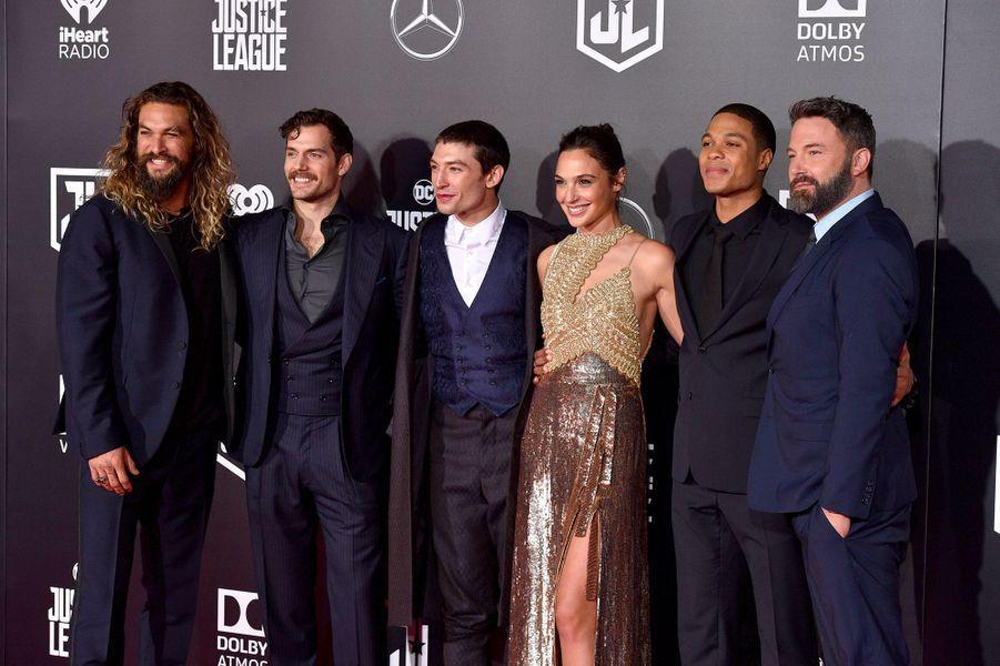 """Le casting de """"Justice League"""" à Los Angeles"""
