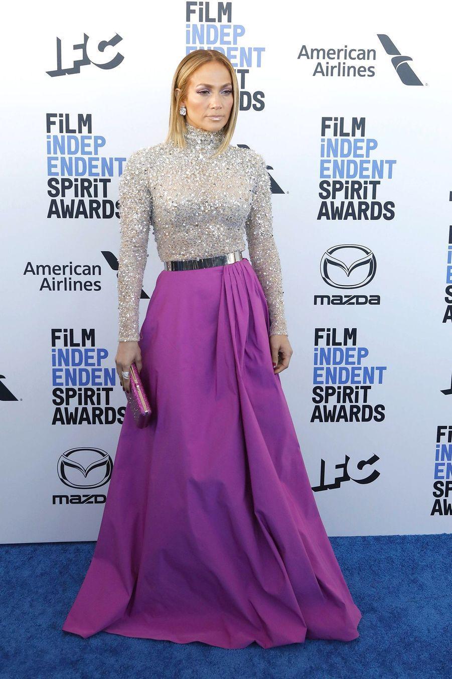 Jennifer Lopez, auxIndependent's Spirit Awards, le 8 février à Santa Monica.