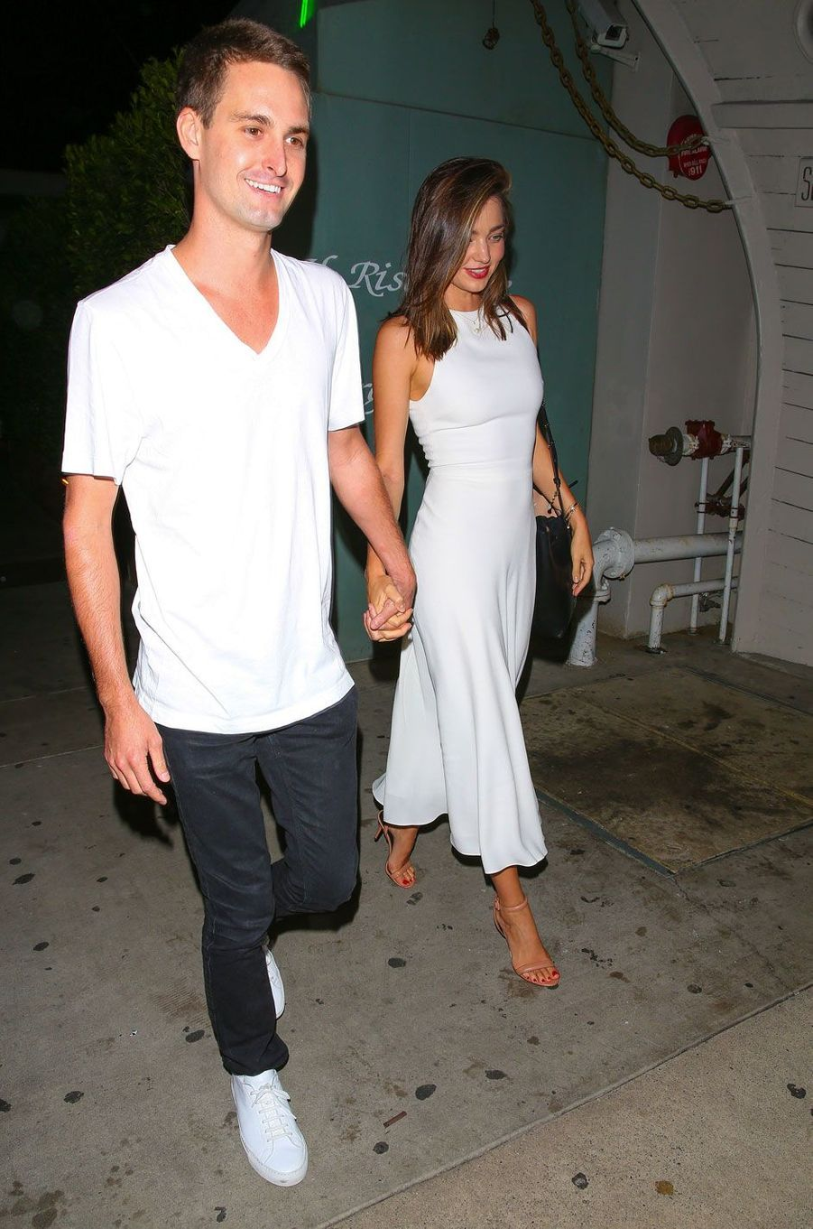 Miranda Kerr est fiancée à Evan Spiegel, fondateur de Snapchat