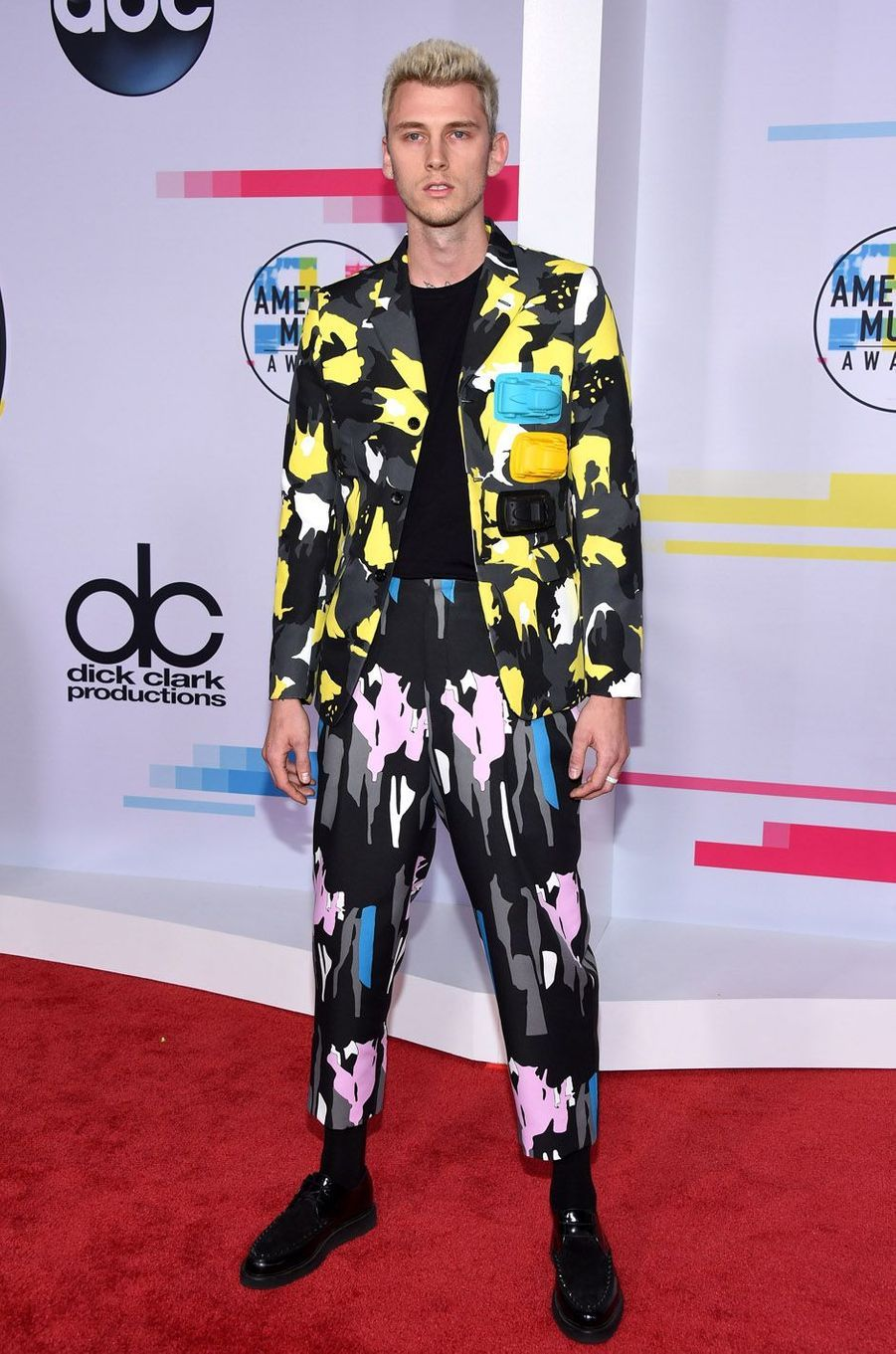 Machine Gun Kelly aux American Music Awards, le 19 novembre 2017 à Los Angeles.