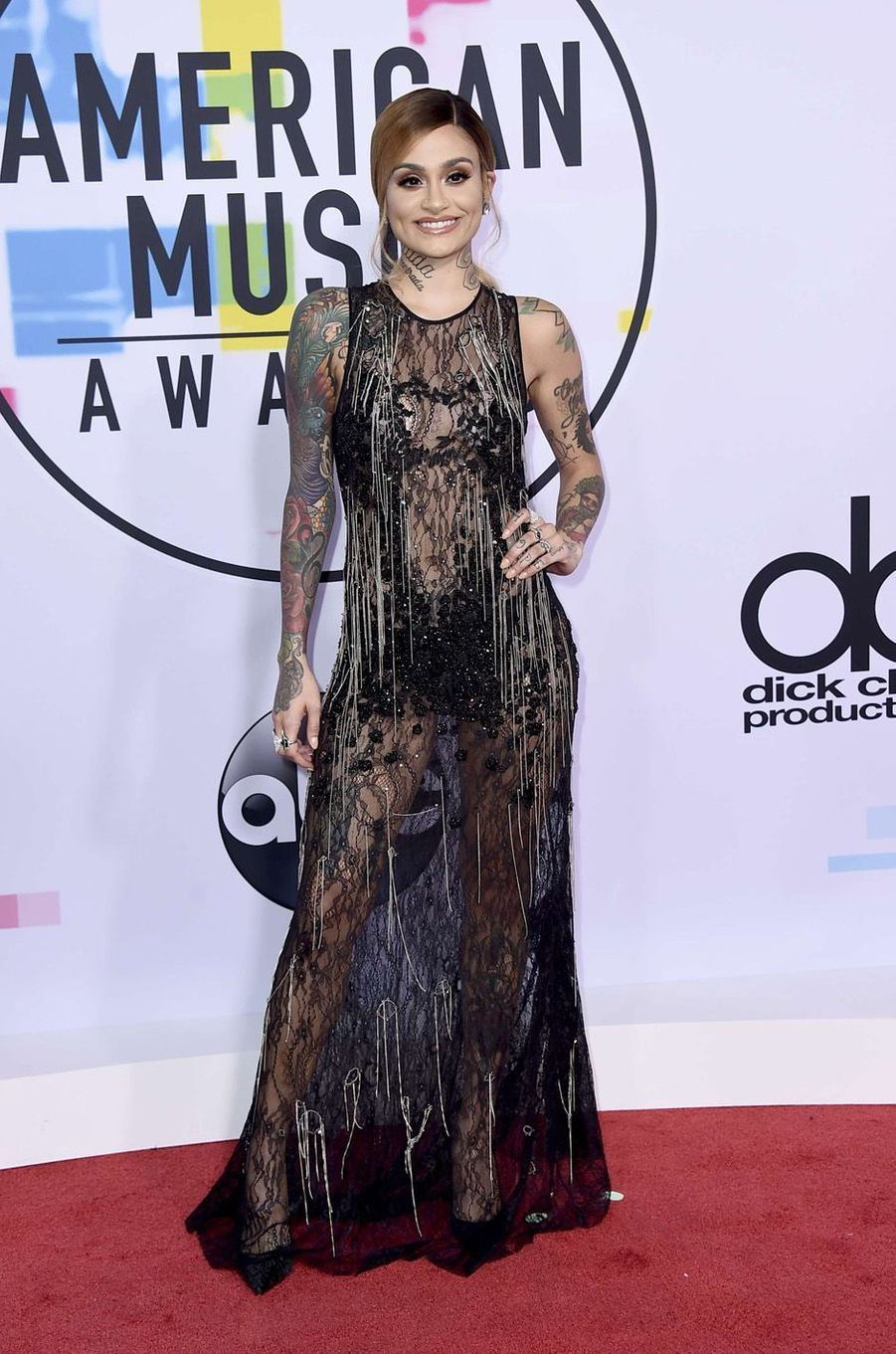 Kehlani aux American Music Awards, le 19 novembre 2017 à Los Angeles.