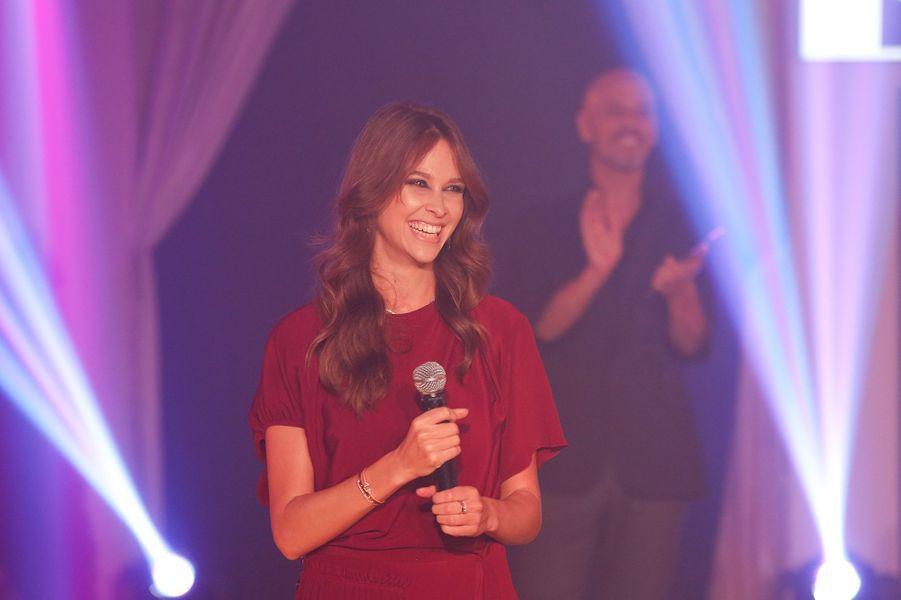 Pour lancer l'événement, la star de la chaîne M6 Ophélie Meunier.