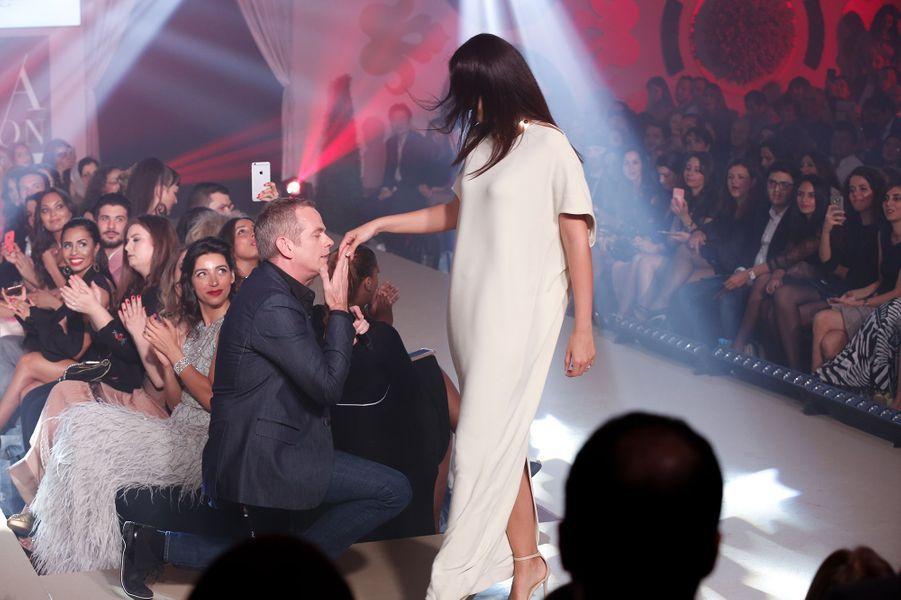 Garou parrain de cette 10e édition du Casa Fashion Show.