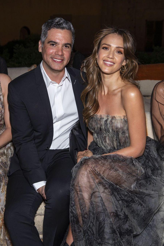 Cash Warren et Jessica Albaau défilé Croisière Dior au Palais El Badi à Marrakech, le 29 avril 2019