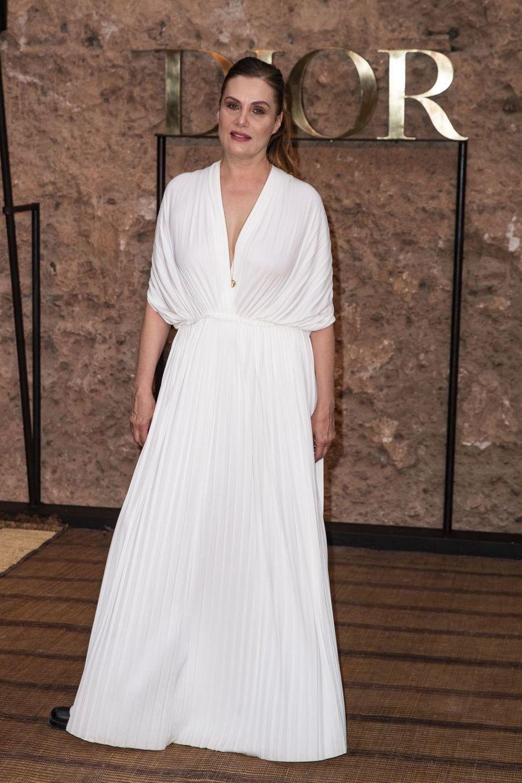 Emmanuelle Seignerau défilé Croisière Dior au Palais El Badi à Marrakech, le 29 avril 2019