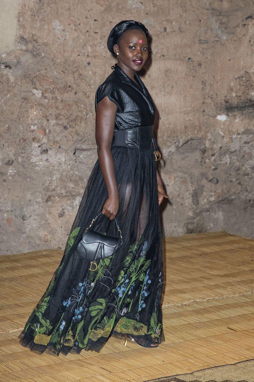 Lupita Nyong'oau défilé Croisière Dior au Palais El Badi à Marrakech, le 29 avril 2019