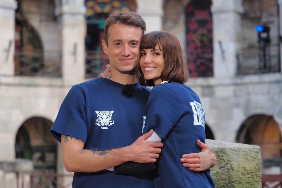 "Hugo Clément et Alexandra Rosenfeld à ""Fort Boyard"""