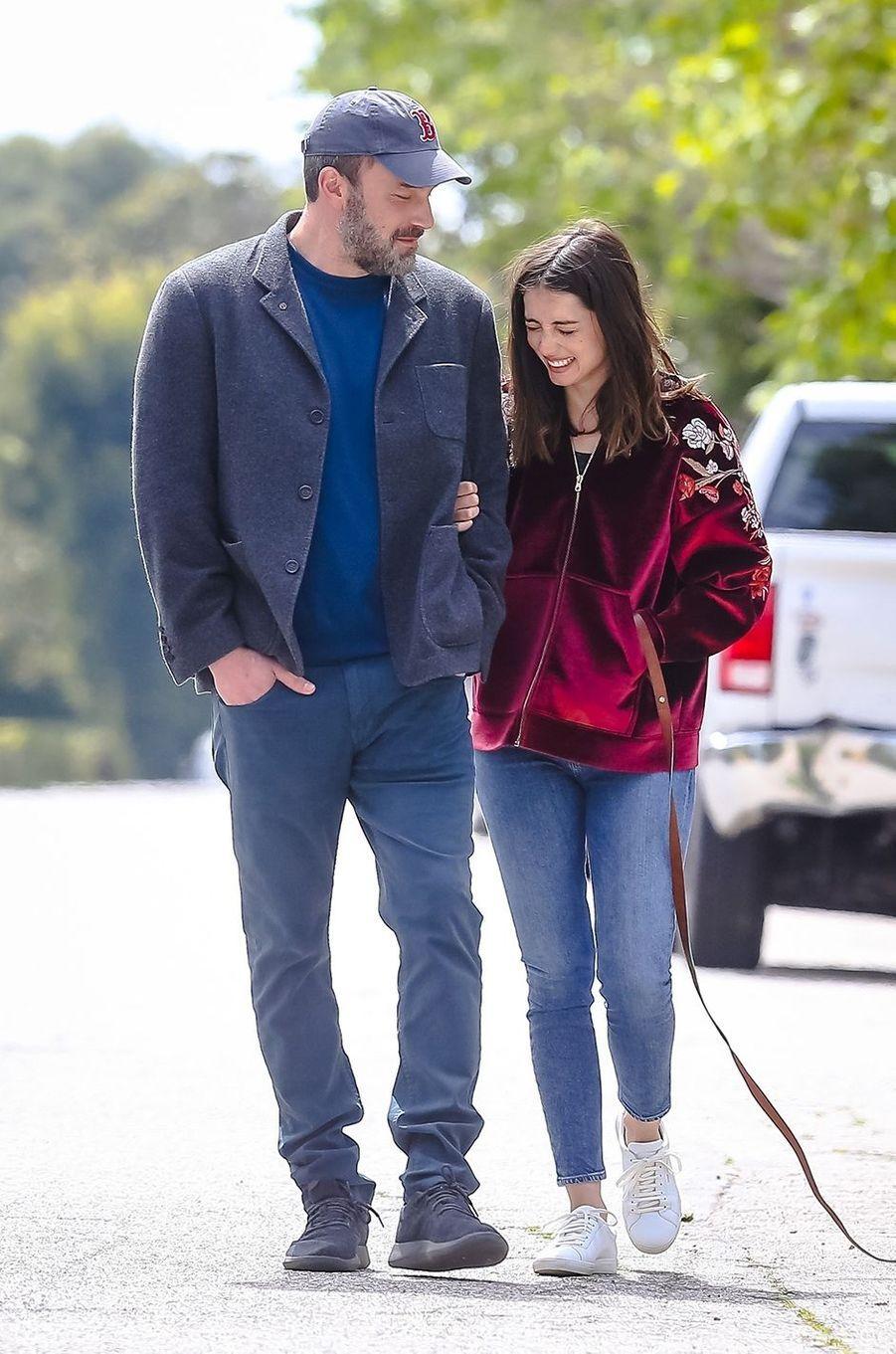 Ana de Armas et Ben Affleckà Los Angeles le 28 mars 2020