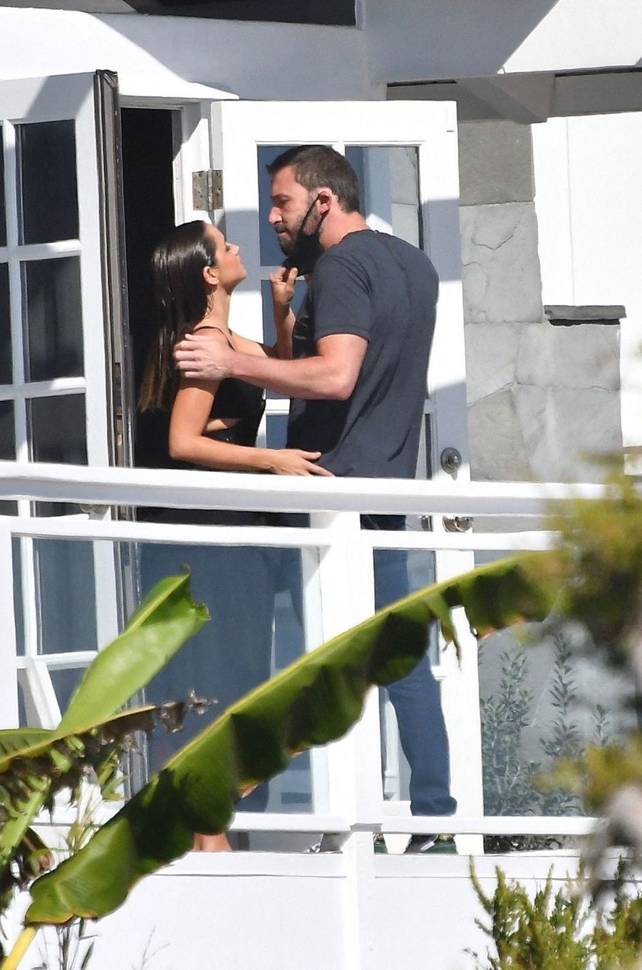 Ana de Armas et Ben Affleckà Malibu le 10 août 2020