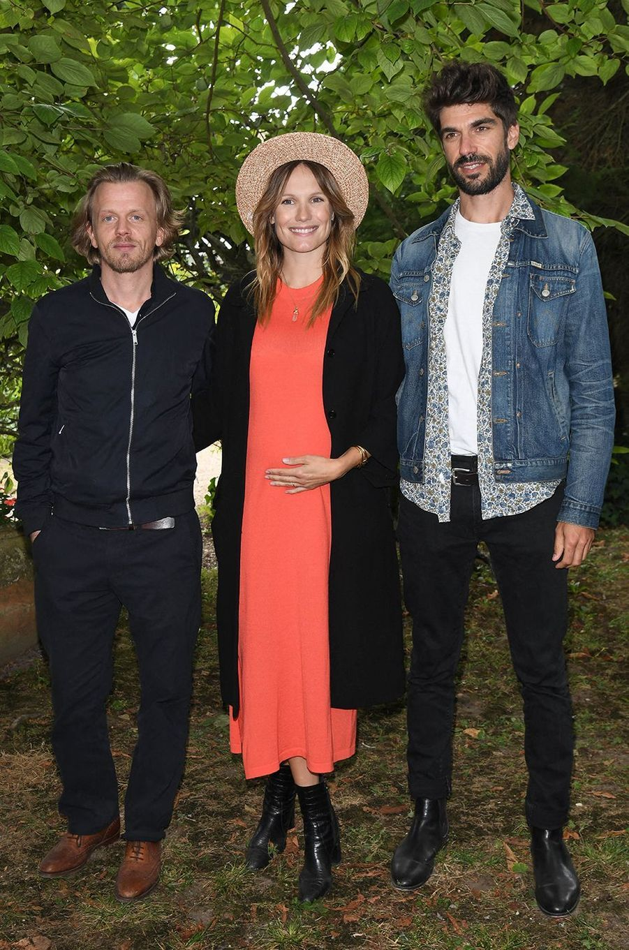 Alex Lutz, Ana Girardot et Quentin Reynaudau Festival du film d'Angoulême pour la présentation du film «5ème Set» le 30 août 2020