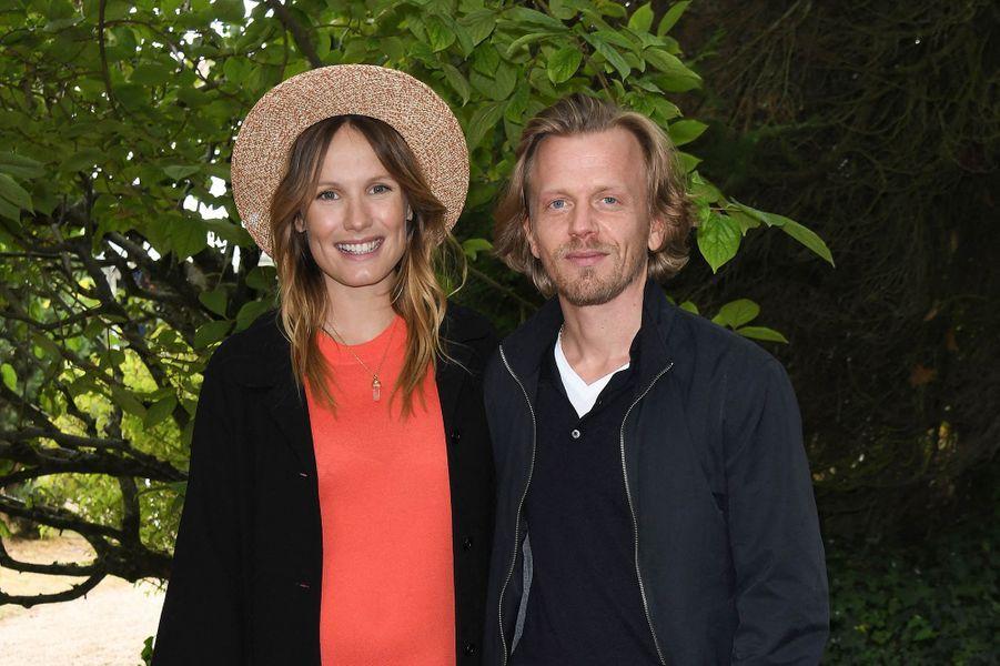 Ana Girardot et Alex Lutzau Festival du film d'Angoulême pour la présentation du film «5ème Set» le 30 août 2020