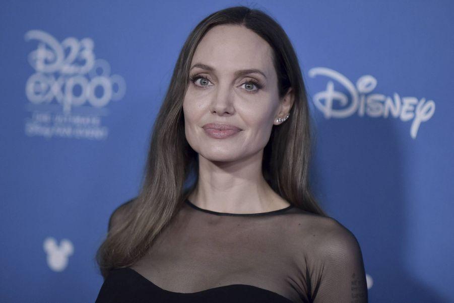 Angelina Jolie lors de la D23 Expo à Anaheim le 24 août 2019