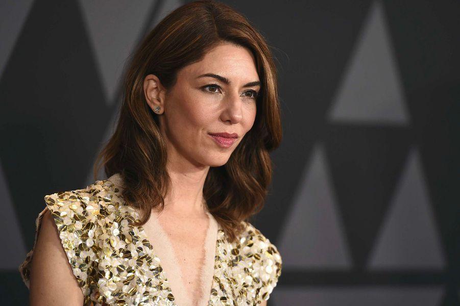 Sofia Coppola aux Governors Awards à Los Angeles, samedi 11 novembre