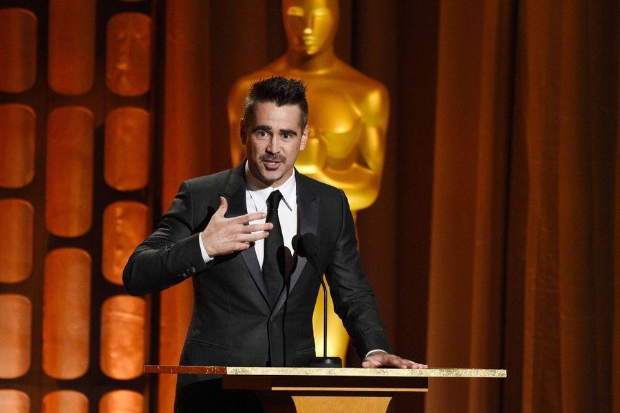 Colin Farrell aux Governors Awards à Los Angeles, samedi 11 novembre