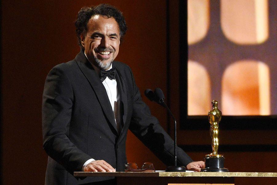 Alejandro Gonzales Inarritu aux Governors Awards à Los Angeles, samedi 11 novembre