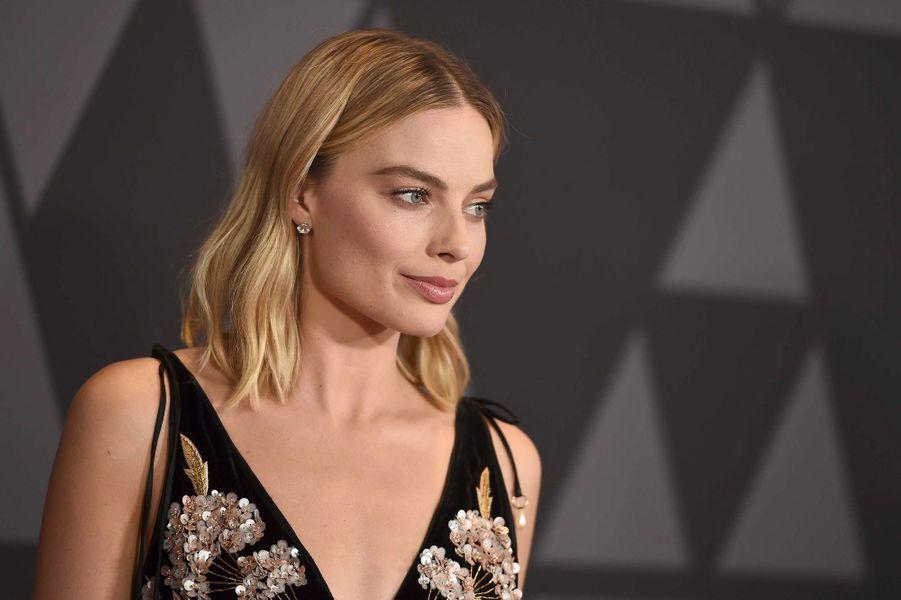 Margot Robbie aux Governors Awards à Los Angeles, samedi 11 novembre