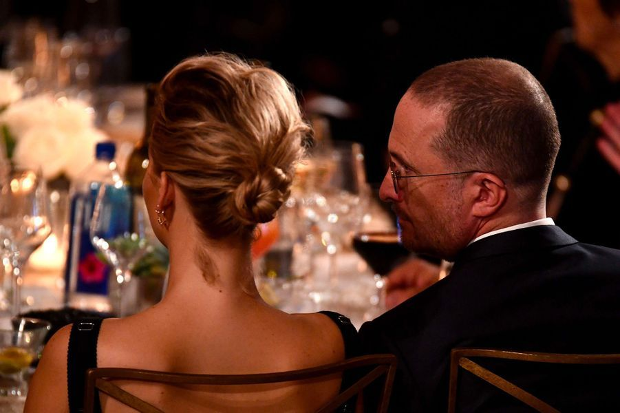 Jennifer Lawrence et Darren Aronofsky aux Governors Awards à Los Angeles, samedi 11 novembre
