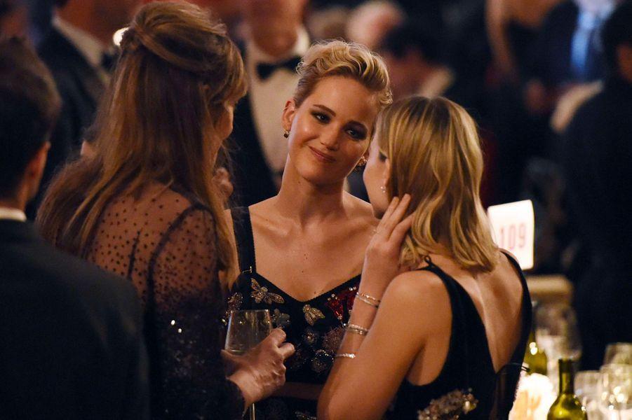 Jennifer Lawrence, Margot Robbie et Allison Janney aux Governors Awards à Los Angeles, samedi 11 novembre
