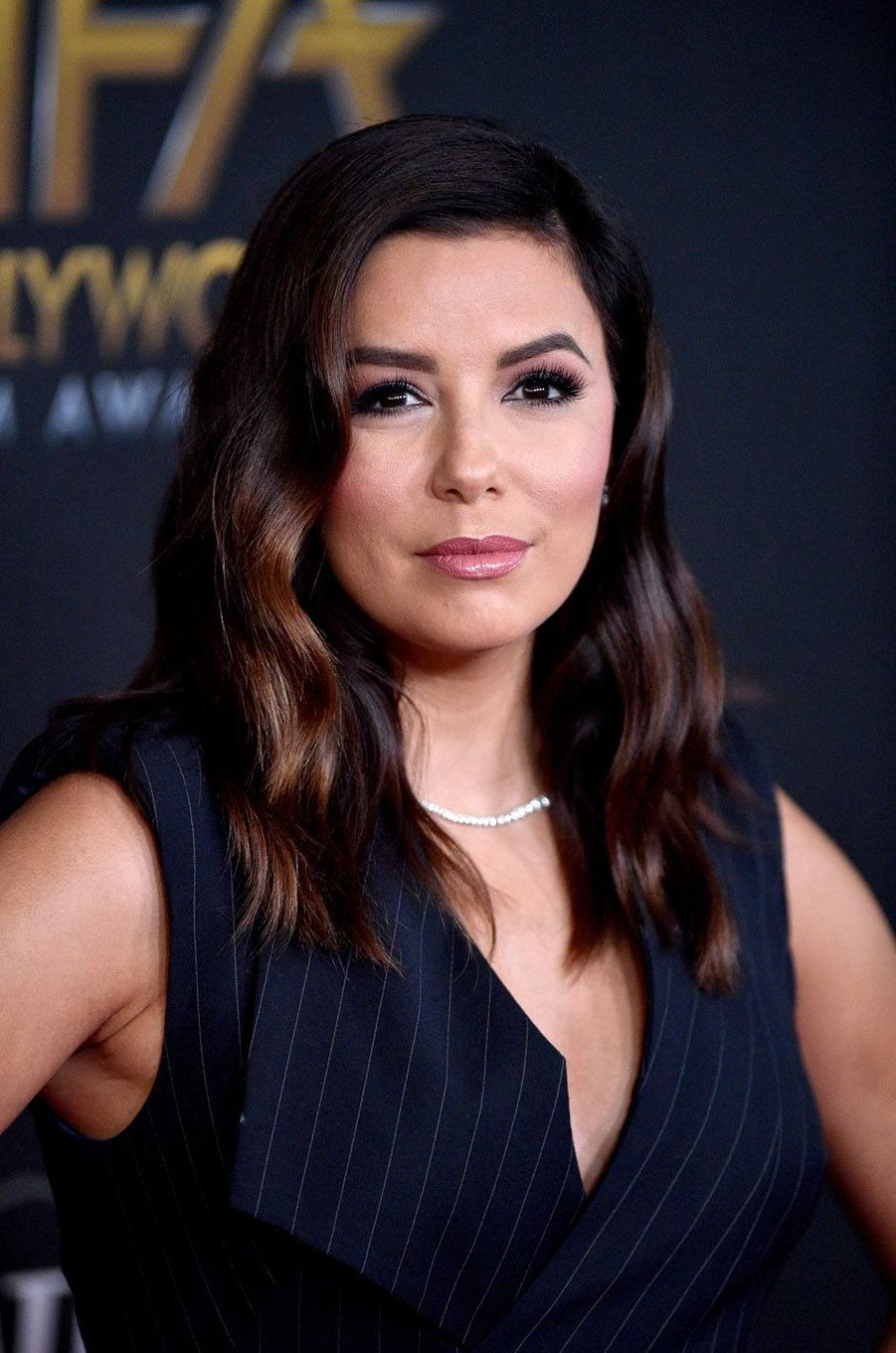 Eva Longoria à la cérémonie des Hollywood Film Awards à Beverly Hills, le 5 novembre 2017.