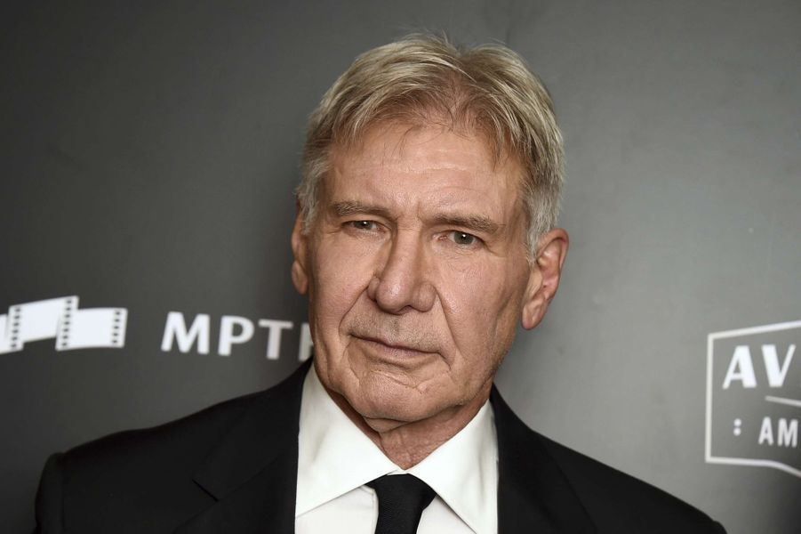 Harrison Ford à la cérémonie des Hollywood Film Awards à Beverly Hills, le 5 novembre 2017.