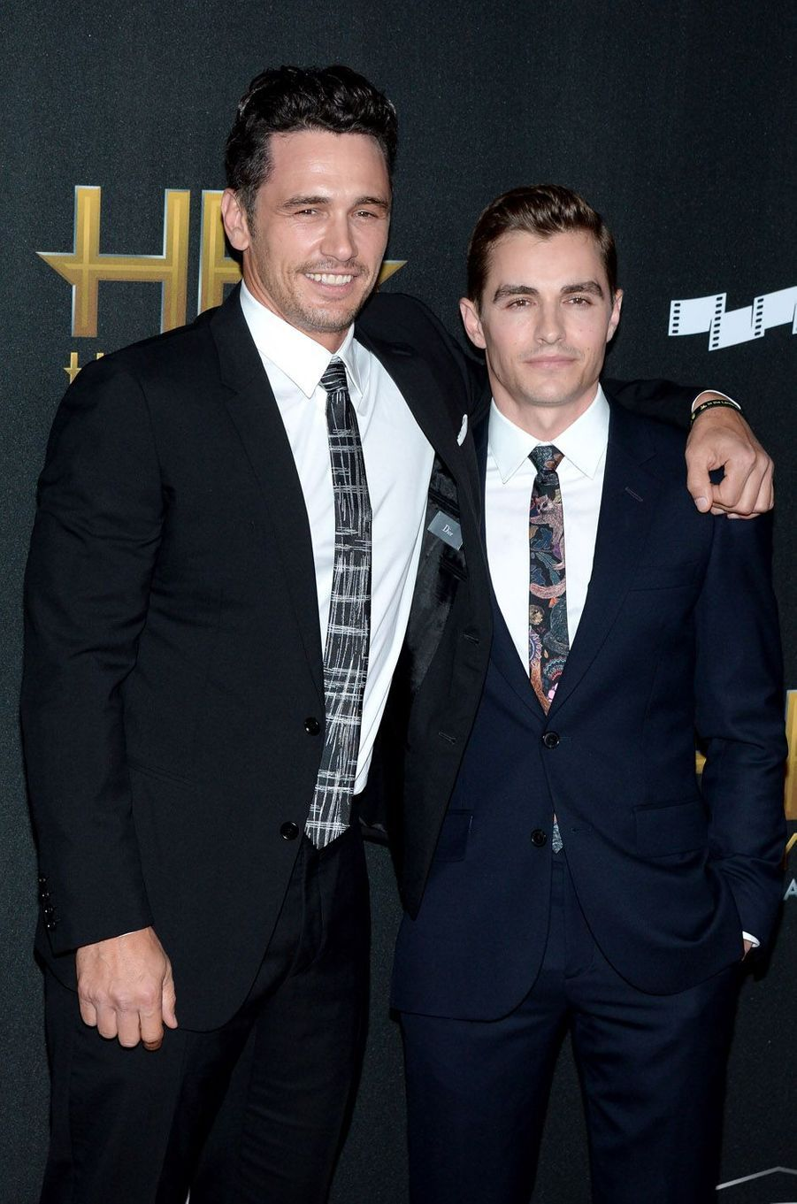 James et Dave Franco à la cérémonie des Hollywood Film Awards à Beverly Hills, le 5 novembre 2017.