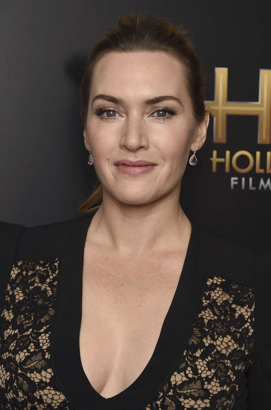 Kate Winslet à la cérémonie des Hollywood Film Awards à Beverly Hills, le 5 novembre 2017.