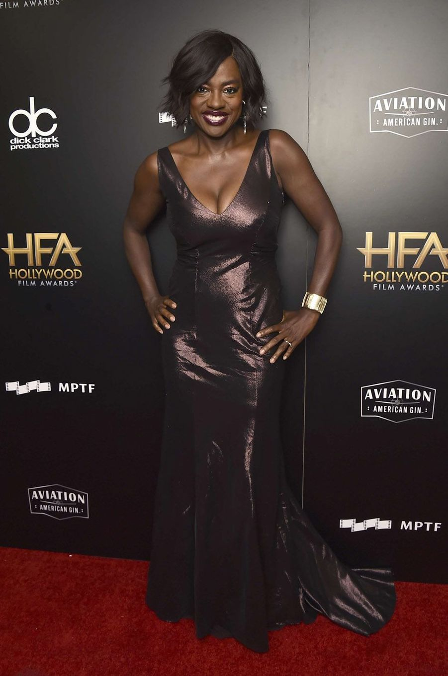 Viola Davis à la cérémonie des Hollywood Film Awards à Beverly Hills, le 5 novembre 2017.