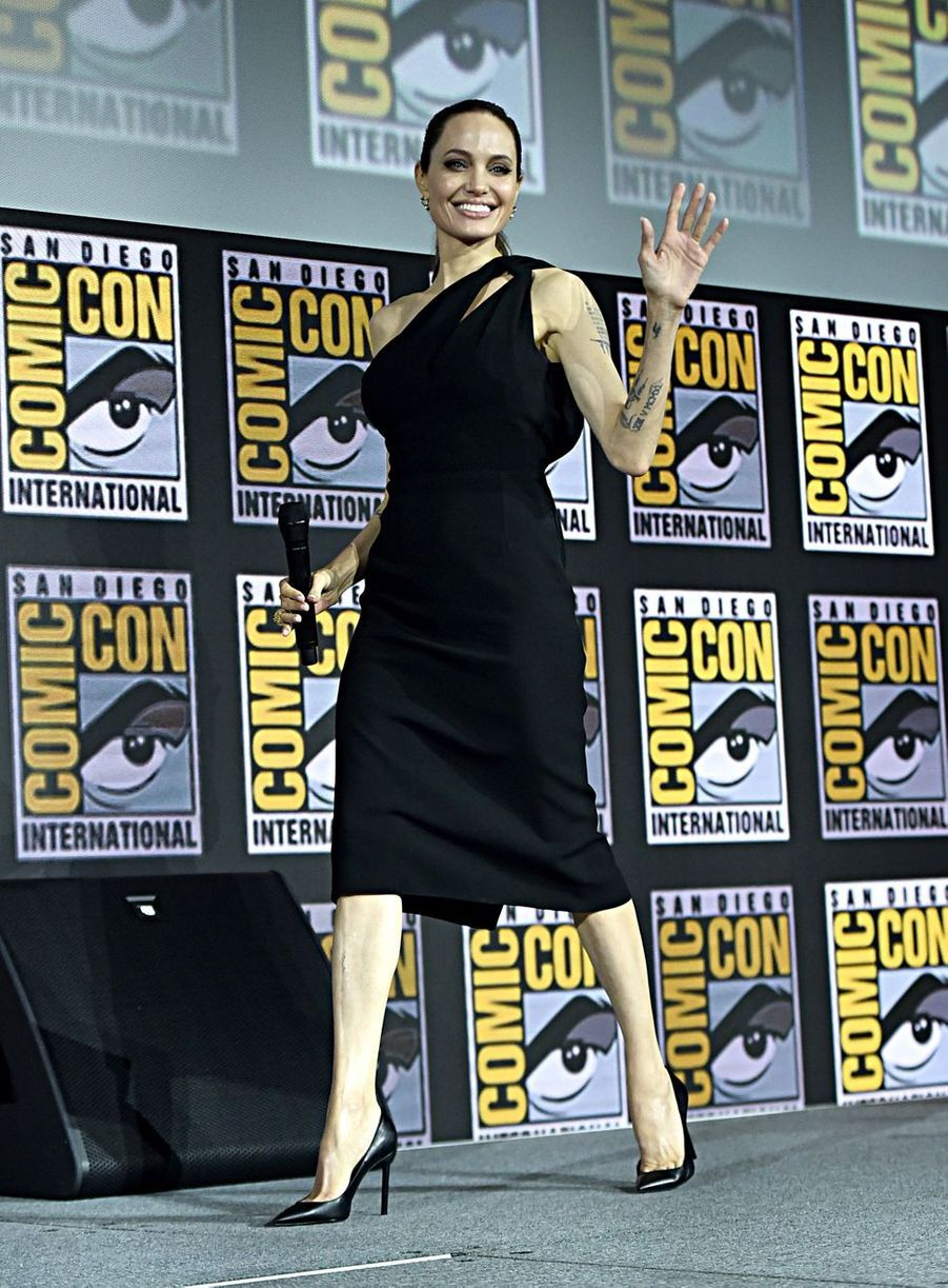 Angelina Jolieau Comic-Con à San Diego le 20 juillet 2019