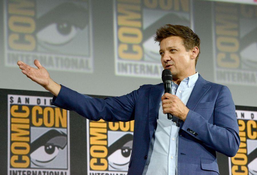 Jeremy Rennerau Comic-Con à San Diego le 20 juillet 2019